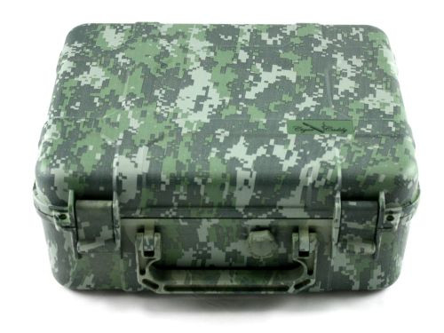 Cigar Caddy Camouflage 40 Stick Travel Cigar Humidor