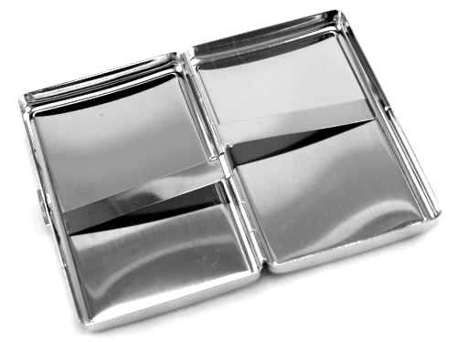 Gray Snake Cigarette Case