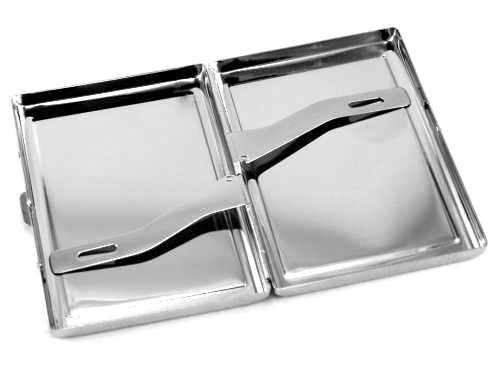 Black Oval Cigarette Case