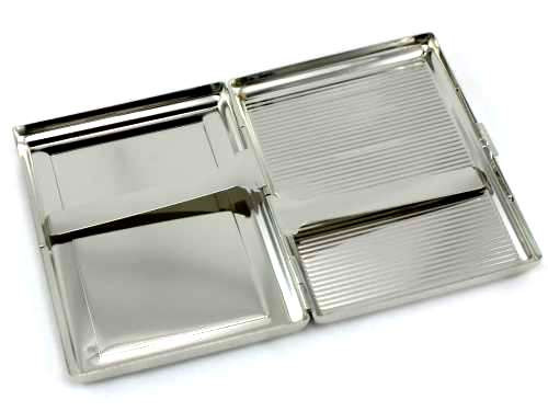 Blue Crystal Cigarette Case