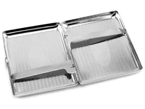 Silver Rope Cigarette Case