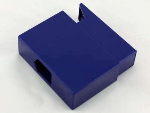 Blue Slide Plastic Cigarette Case
