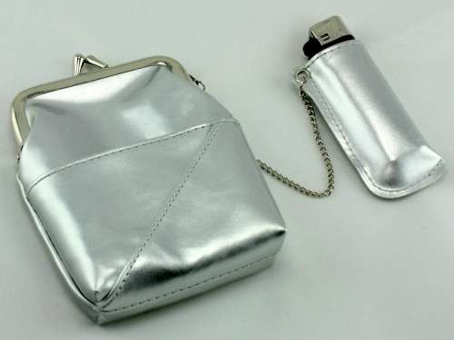 Silver Cigarette Pack Holder