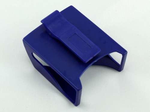 Blue Belt Clip Cigarette Pack Holder