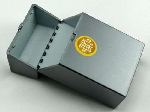 Charcoal Push Cigarette Pack Holder