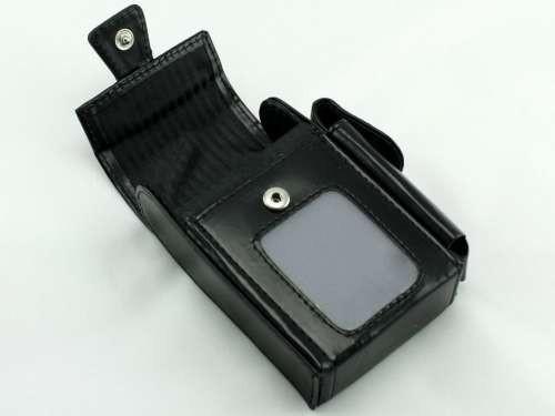 Black Window Cigarette Pack Holder