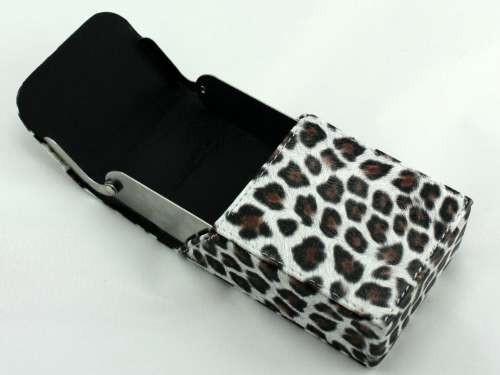 Leopard Cigarette Pack Holder