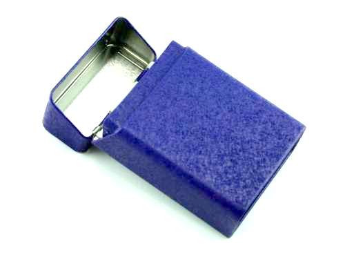 Blue PC Cigarette Pack Holder