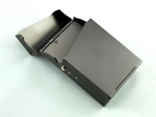 Charcoal Auto Cigarette Pack Holder
