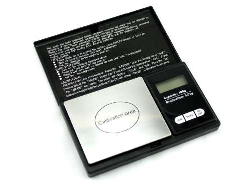 WeighMax Pro Black Digital Pocket Scale