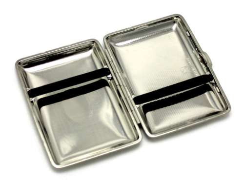Lucienne Brushed Satin Cigarette Case