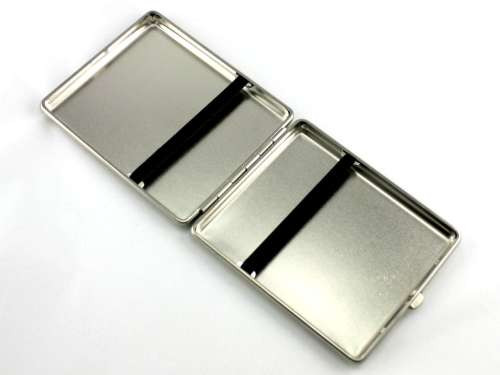 Lucienne Silver Grand Cigarette Case