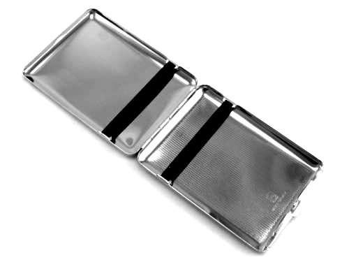 Lucienne Silver Century Cigarette Case