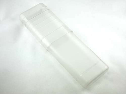 Frosted Clear Extra Wide Adjustable Cigar Tube