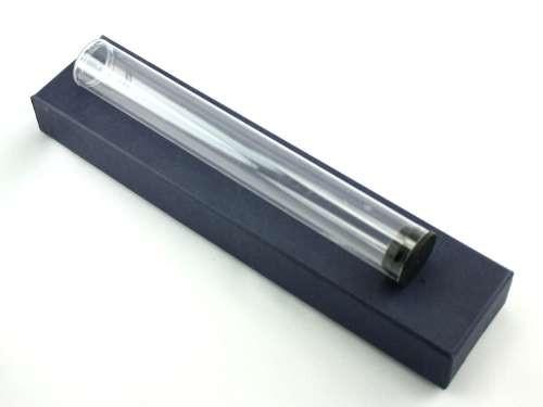 Clear Plastic Cigar Tube