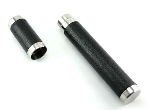 Black Executive Cigar Tube