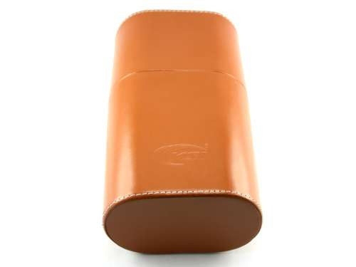 Brown Belvedere Cigar Tube with Humidifier