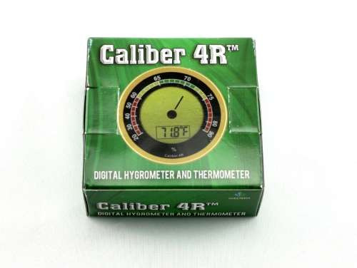 Caliber 4R Digital Cigar Hygrometer with Thermometer