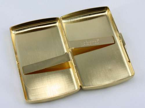 Lucienne Classic Gold Cigarette Case