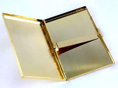 Lucienne Solid Gold Cigarette Case