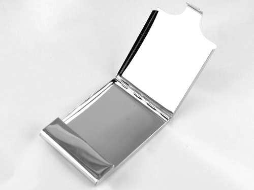 Lucienne Silver Flip Cigarette Case