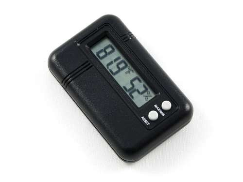 Royce Digital Cigar Hygrometer with Thermometer