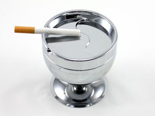 Silver Viper Cigarette Ashtray