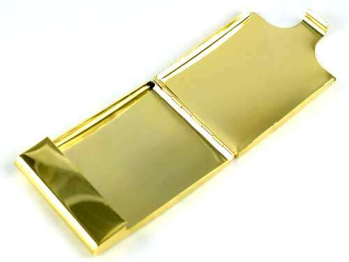 Lucienne Gold Flip Cigarette Case