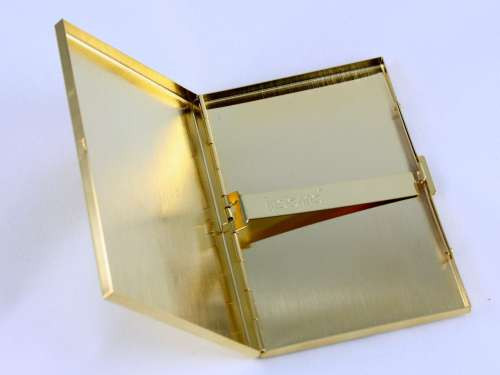 Lucienne Gold Floral Cigarette Case