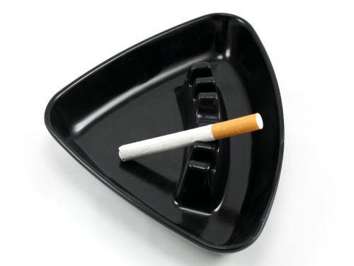 Black Triangle Cigarette Ashtray