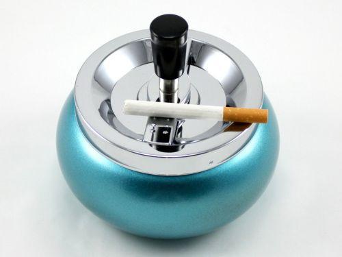 Blue Orion Spinning Cigarette Ashtray