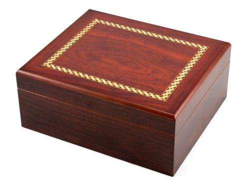 Madison with Brown Cigar Humidor Gift Set