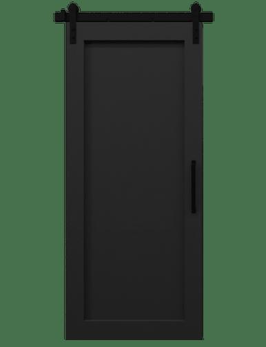 Black Sliding Barn Doors