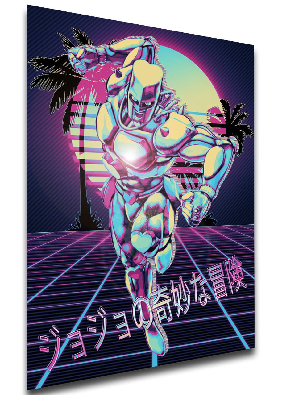 Poster Vaporwave 80s Style Jojo S Bizarre Adventure Diamond Is Unbreakable Crazy Diamond Variant 01 Propaganda World 820 x 1457 jpeg 411 кб. unbreakable crazy diamond variant 01