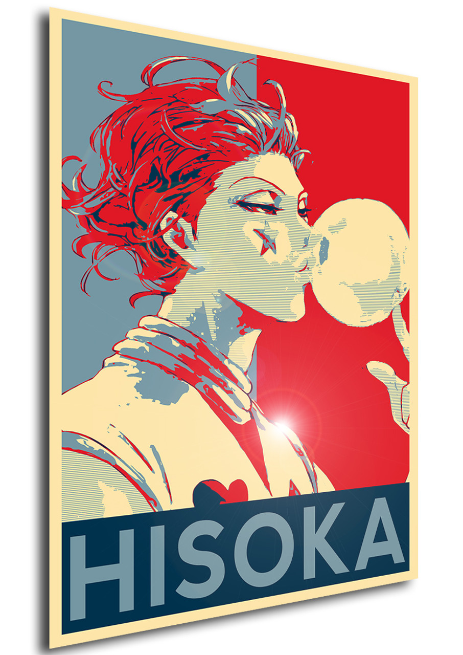 Poster Propaganda Hunter X Hunter Hisoka Propaganda World