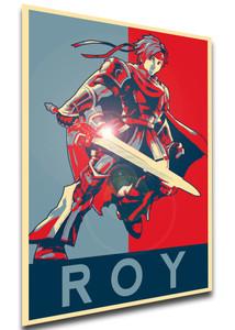 Roy Variant 01 T-Shirt Gray Propaganda Smash Bros