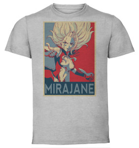 T Shirt Unisex Grey Propaganda Fairy Tail Mirajane Propaganda World You can adjust your cookie preferences at the bottom of this page. propaganda world
