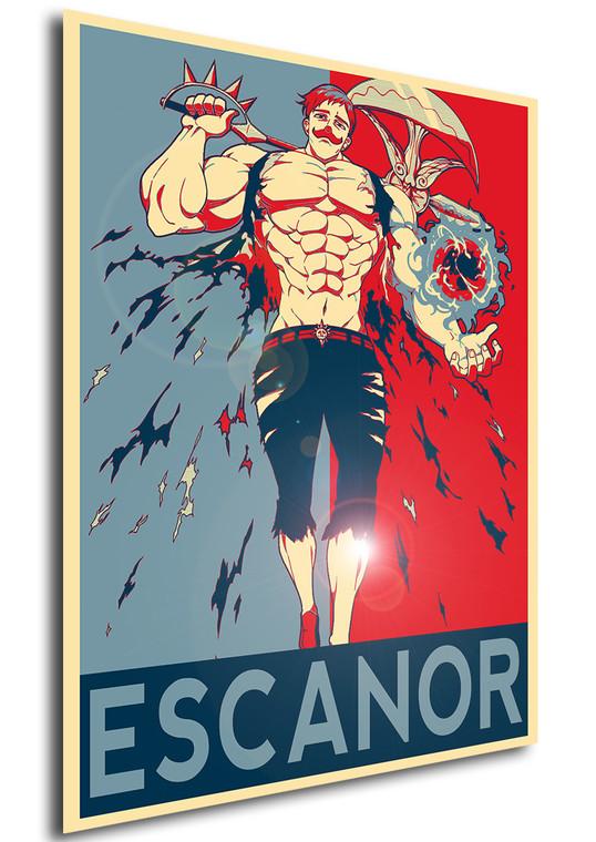 Poster Propaganda - Seven Deadly Sins - Escanor variant 3