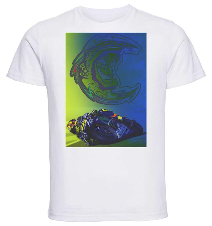 T-shirt Unisex - White - Motogp Valentino Rossi