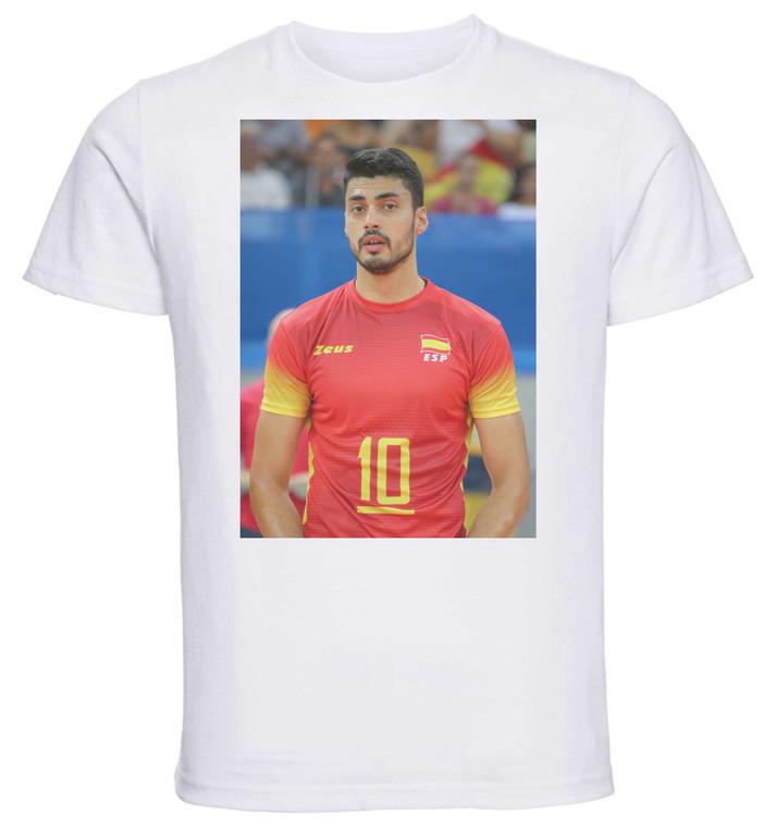 T-shirt Unisex - White - Pallavolo - Jorge Fernández
