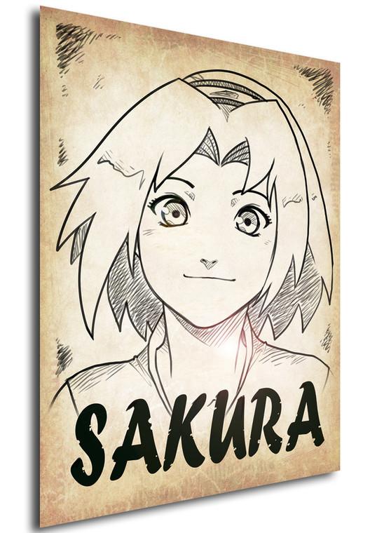 Poster - Anime - Wanted - Ganassa - Sakura