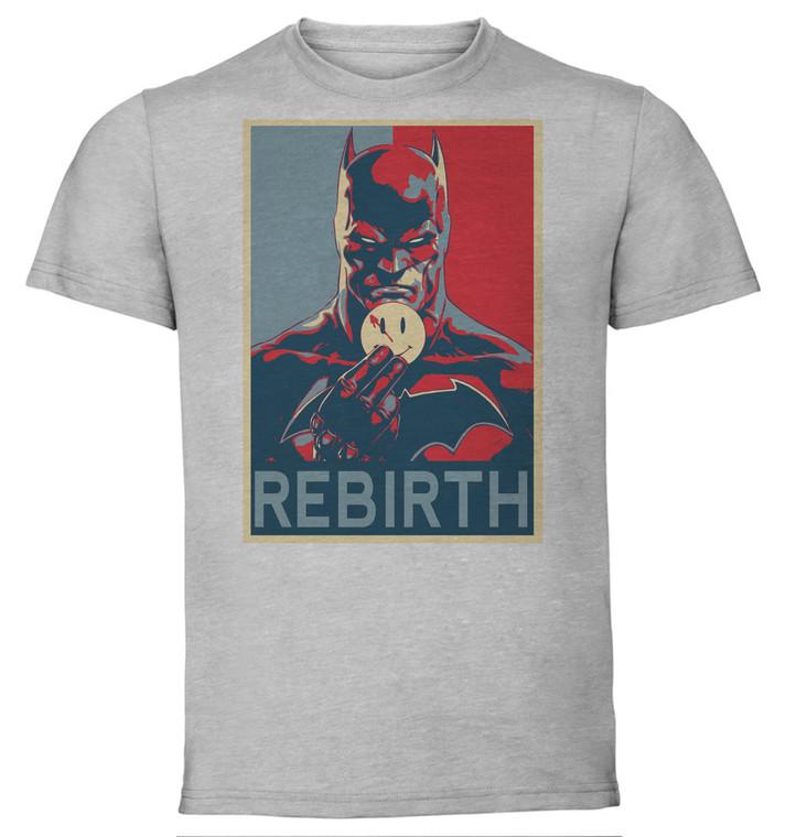 T-Shirt Unisex - Grey - Propaganda - Dc Universe - Batman Rebirth