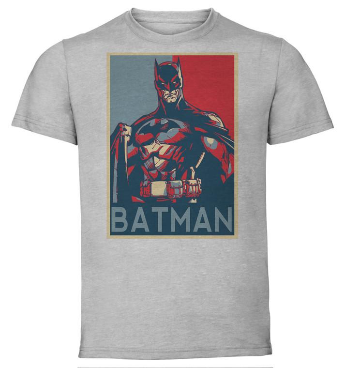 T-Shirt Unisex - Grey - Propaganda - Dc Universe - Batman