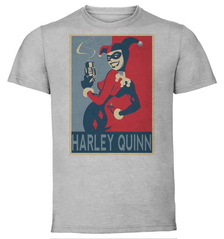 T-Shirt Unisex - Grey - Propaganda - Dc Universe - Harley Quinn Variant