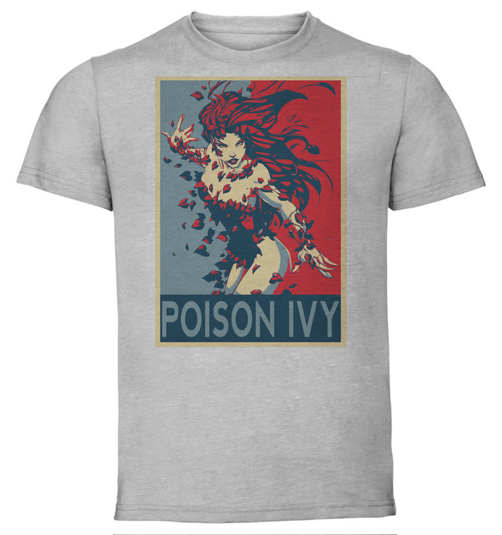 T-Shirt Unisex - Grey - Propaganda - Dc Universe - Poison Ivy Variant
