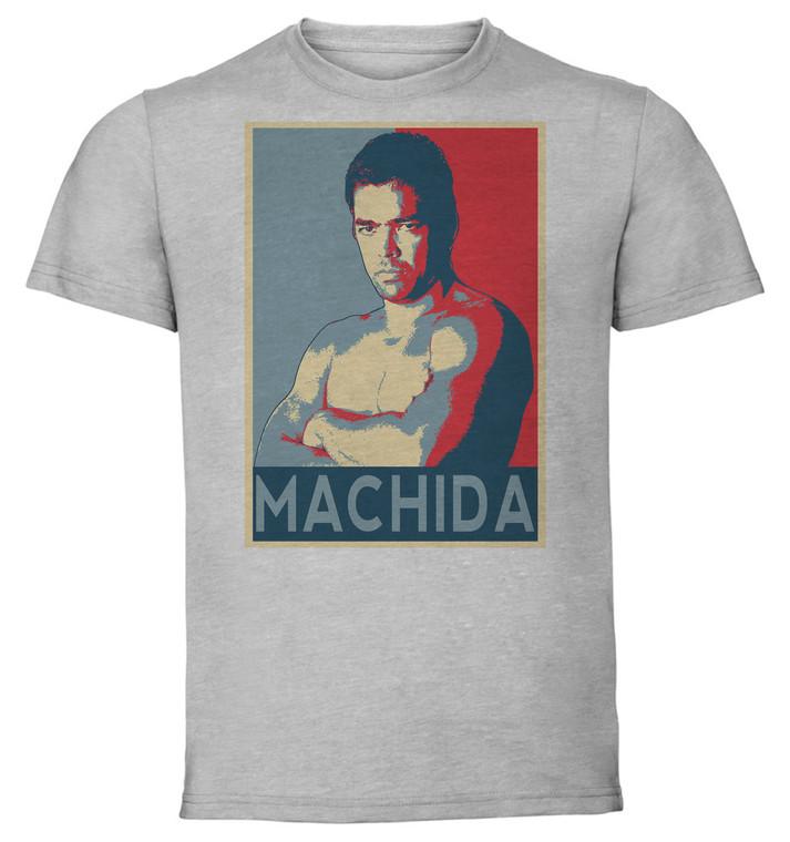 T-Shirt Unisex - Grey - Propaganda - Mma - Machida