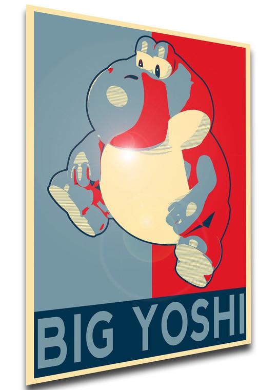 Poster - Propaganda - Meme - Big Yoshi