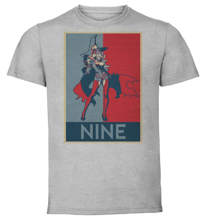 T-Shirt Unisex - Grey - Propaganda - Pixel Art - BlazBlue - mNine