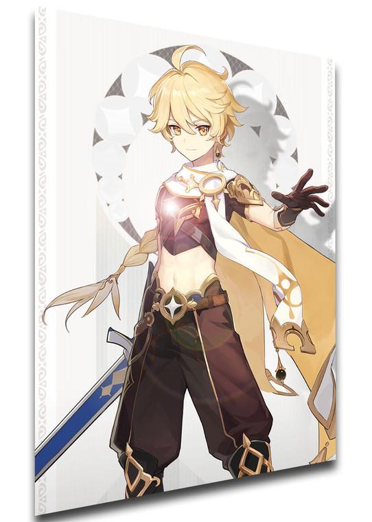 Poster - Videogame - Genshin Impact - Traveler male