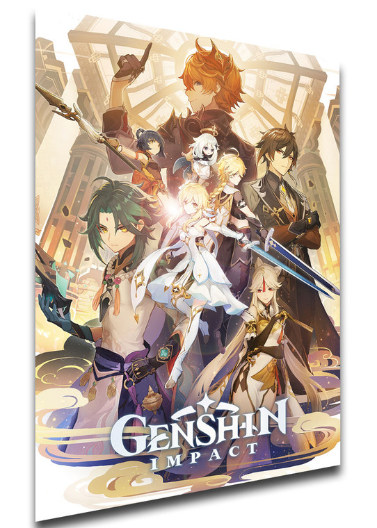 Poster - Videogame - Genshin Impact - Cover